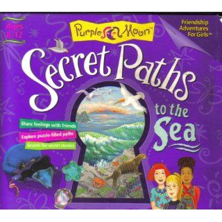 Secret Paths To The Sea Friendship Adventure For Girls Ages 8 12 [ Windows & MAC ] (Purple Moon) Purple Moon Books