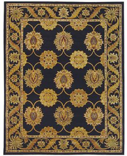 MANUFACTURERS CLOSEOUT Safavieh Rugs, Heritage HG314A Black   Rugs