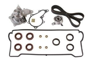 Evergreen TBK235VCT Toyota 7AFE SOHC Timing Belt Kit w/ Valve Cover & Water Pump Automotive