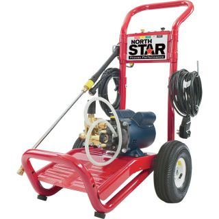 NorthStar Electric Cold Water Pressure Washer — 1700 PSI, 1.5 GPM, 120 Volt  Electric Cold Water Pressure Washers