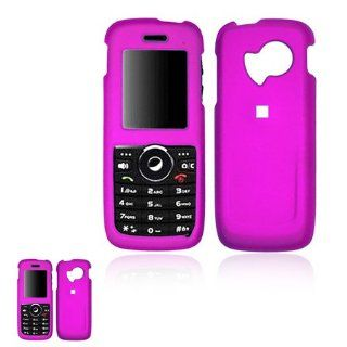 Huawei M228 Hot Pink Rubberized Snap On Case Cell Phones & Accessories
