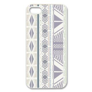 Custom Aztec Pattern Back Hard Cover Case for iPhone 5 5s I5 227 Cell Phones & Accessories