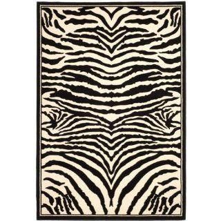Safavieh Lyndhurst Collection LNH226A Black and White Area Rug, 9 Feet by 12 Feet   Runners