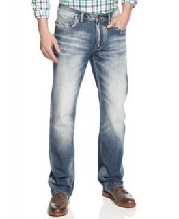Buffalo David Bitton Jeans, Six Lucas Straight Leg Jeans   Jeans   Men