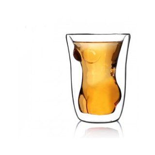 Original Best Deal Doomed Sexy Shape Vodka/ Wine/ Cocktail/ Beer Shot Glass Drinking Ware Cup   Suitable for Rock Bar, Pub, Restaurant, Hotel  Doomed Skull Shot Glass
