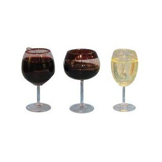 Wine Glass Ornament   Assorted Styles   Decorative Hanging Ornaments