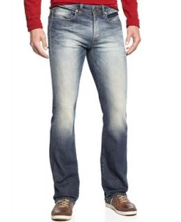 Buffalo David Bitton King Slim Boot Cut Jeans, Indigo Wash   Jeans   Men