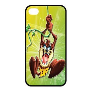 Mystic Zone Customized Taz iPhone 4 Case for iPhone 4/4S Hard Cover cool Cartoon Fits Case KEK0043 Cell Phones & Accessories