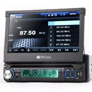 D1309B Milion 1 DIN Detachable Car DVD Stereo Radio Player BT/IPOD/USB  Vehicle Dvd Players