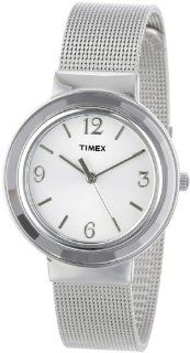 Timex Women's T2P196KW Ameritus Silver Tone Stainless Steel Mesh Bracelet Dress Watch Watches