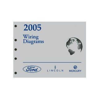 2005 Lincoln Aviator Wiring Diagram Ford Motor Company Books