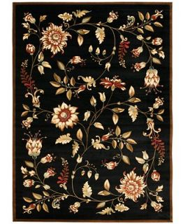 MANUFACTURERS CLOSEOUT Safavieh Area Rug, Lyndhurst LNH552 9091 Black/Multi 67 X 96   Rugs