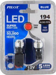 Pilot Automotive (IL 194B 5) Blue 5 SMD LED Dome Light Bulb   2 Piece Automotive