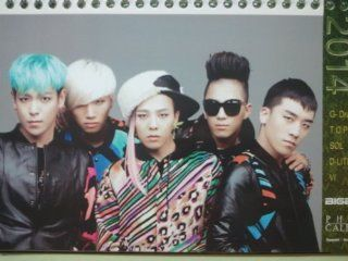 Korean KPOP/Big Bang 2015/2016 Calender Ver 1. included Sticker   Prints