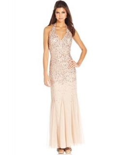 Morgan & Company Juniors Dress, Sleeveless Sequin Gown   Juniors Dresses