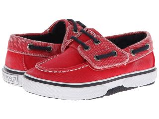 Sperry Top Sider Kids Halyard Jr. Boys Shoes (Red)