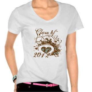 Class of 2012 Senior Graduation Invitation & Gifts T Shirt