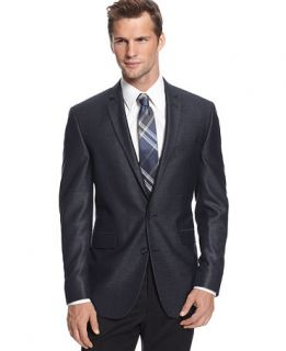 Kenneth Cole Reaction Jacket, Textured Sportcoat Slim Fit   Blazers & Sport Coats   Men