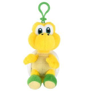 Koopa Troopa Plush Keychain   Super Mario Character Keychains Toys & Games