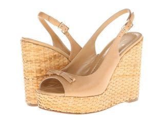 Kate Spade New York Della Womens Wedge Shoes (Neutral)