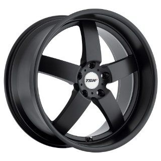 "TSW Rockingham Wheel with Matte Black Finish (17""x8""/5x120mm) Automotive"