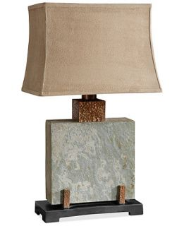Uttermost Indoor/Outdoor Slate Square Table Lamp   Lighting & Lamps   For The Home