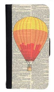 CellPowerCasesTM Vintage Hot Air Balloon Bi fold iPhone 5 Case   Fits iPhone 5 & iPhone 5S Cell Phones & Accessories