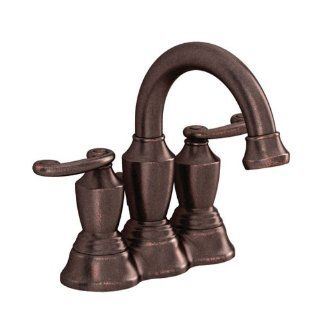 American Standard 9018201.181 Ocean Grove 4 Inch Two Handle Lavatory Faucet, Estate Bronze   Touch On Bathroom Sink Faucets