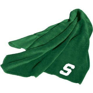 Logo Chair Michigan State Spartans NCAA Fleece Throw Blanket LCC 172 25  Sports Fan Throw Blankets  Sports & Outdoors
