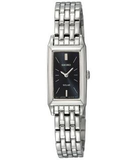 Seiko Watch, Womens Solar Stainless Steel Bracelet 15mm SUP043   Watches   Jewelry & Watches