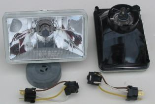 Hella 165mm Free Form DOT SAE Conversion Headlamp Kit with Hella High Performance Xenon Blue 60/55W Bulbs Automotive