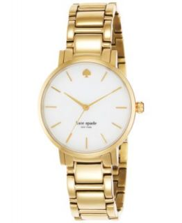 kate spade new york Watch, Womens Seaport Grand Gold Tone Stainless Steel Bracelet 38mm 1YRU0102   Watches   Jewelry & Watches