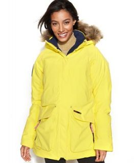 Helly Hansen Jacket, Arctic Legacy Hooded Faux Fur Trim Puffer   Coats   Women