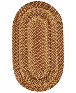 Capel Rugs, Homecoming Oval Braid 0048 100 Wheatfield   Rugs