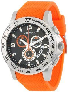 Nautica Men's N19601G NST 600 Chrono Carving Color Sport Classic Analog with Enamel Bezel Watch at  Men's Watch store.