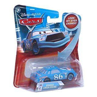 Disney / Pixar CARS Movie 155 Die Cast Car with Lenticular Eyes Series 2 Dinoco Chick Hicks Toys & Games