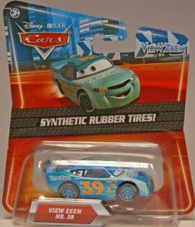 Disney / Pixar CARS Movie Exclusive 155 Die Cast Car with Synthetic Rubber Tires View Zeen Toys & Games