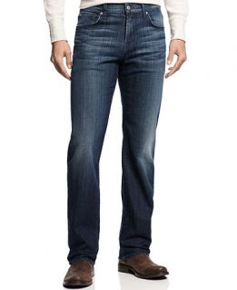 7 For All Mankind Austyn Relaxed Straight Leg Jeans, Ether Blue Wash   Jeans   Men