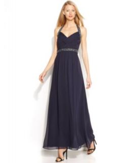 Xscape Cap Sleeve Lace Gown   Dresses   Women