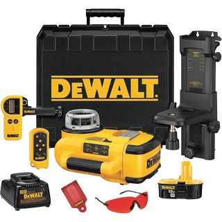 DEWALT Self-Leveling Rotary Laser Kit — 18 Volt, Model# DW079KD  Laser Levels