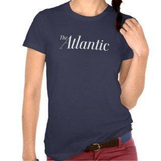 American Apparel T Shirt in Navy   Women's Tshirt