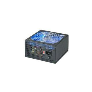 Coolmax 600W 140mm Blue LED Fan Power Supply VL 600B (Black) Electronics