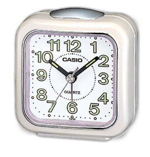 Casio #TQ142 7DF Table Top Travel with Light Alarm Clock White Electronics