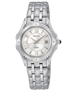 Seiko Watch, Womens LeGrand Sport Stainless Steel Bracelet 40mm SXDC35   Watches   Jewelry & Watches