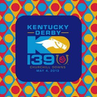 2013 Kentucky Derby Party Luncheon Napkins from Churchill Downs Kitchen & Dining
