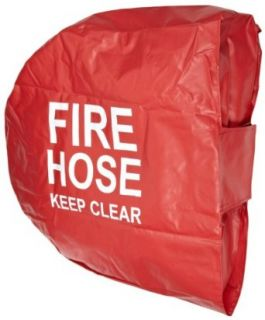 "Moon 138 3 Nylon Swing Fire Hose Reel Cover, 7 1/2"" Height x 18"" Width x 18"" Length"