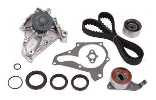 Evergreen TBK138WPT Toyota 5SFE 16V DOHC Timing Belt Kit w/ Water Pump Automotive