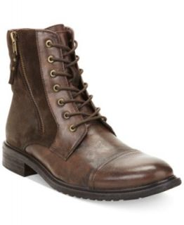 Kenneth Cole Reaction Work Week Double Buckle Boots   Shoes   Men