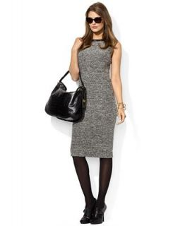 Lauren Ralph Lauren Sleeveless Tweed Sheath Dress   Dresses   Women