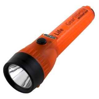 LIFE+GEAR Glow Mini LED FLashlight   Orange Sports & Outdoors